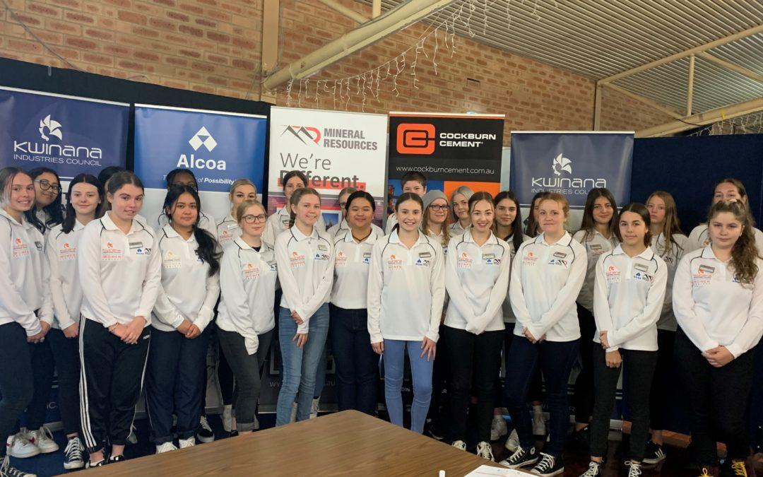 RMS students attending 2020 iWOMEN