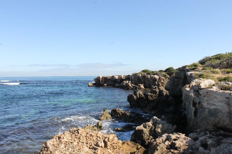 cliffside beach